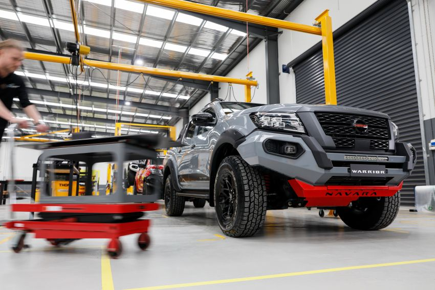 Nissan Navara Pro-4X Warrior launched in Australia – rugged pick-up with revised suspension, new styling Image #1314710