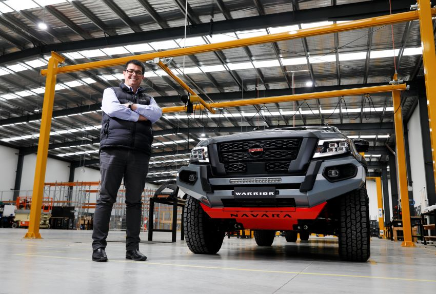 Nissan Navara Pro-4X Warrior launched in Australia – rugged pick-up with revised suspension, new styling Image #1314727