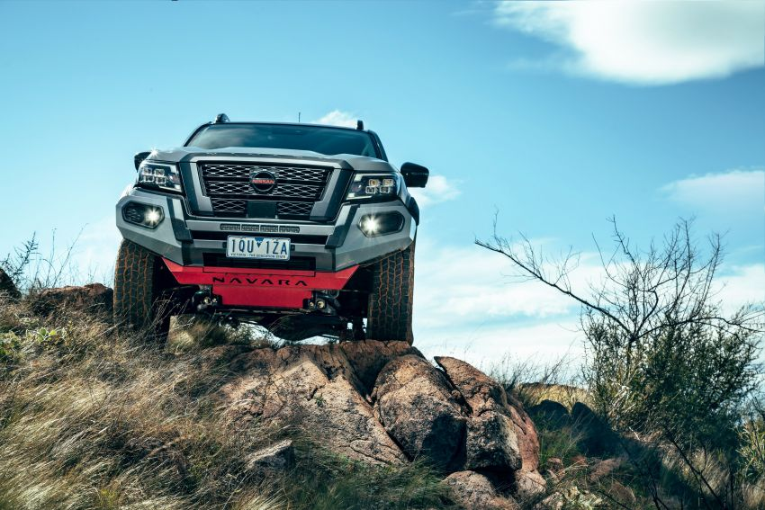 Nissan Navara Pro-4X Warrior launched in Australia – rugged pick-up with revised suspension, new styling Image #1314669