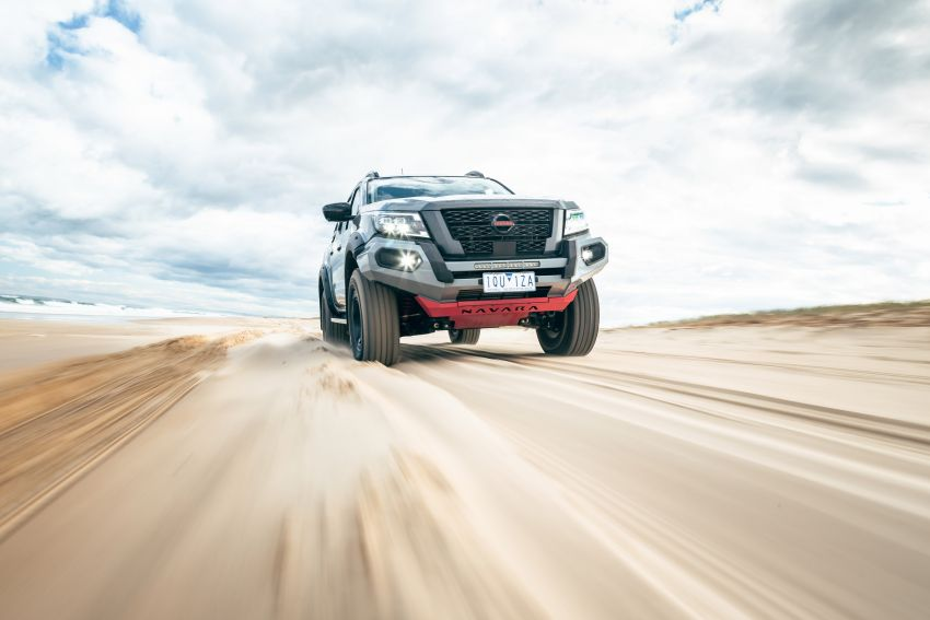 Nissan Navara Pro-4X Warrior launched in Australia – rugged pick-up with revised suspension, new styling Image #1314670