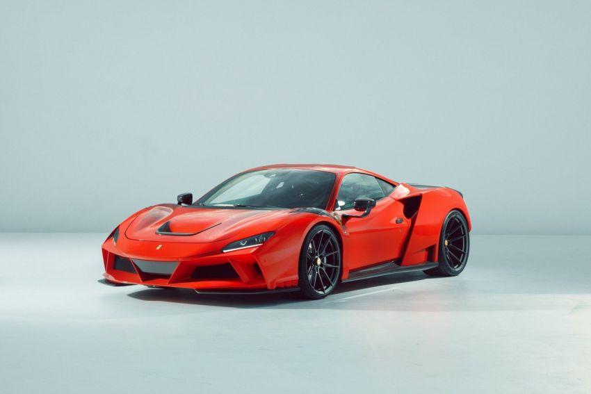 Ferrari F8 N-Largo oleh Novitec – kit <em>widebody</em> baharu, 3.9L turbo-berkembar, 818 PS/903 Nm; terhad 15 unit Image #1315760