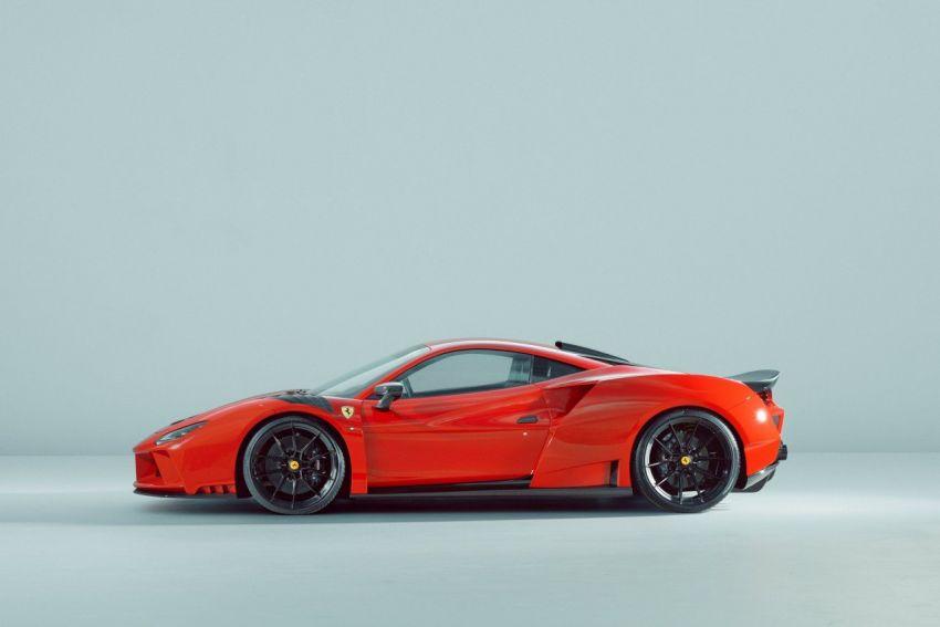 Ferrari F8 N-Largo oleh Novitec – kit <em>widebody</em> baharu, 3.9L turbo-berkembar, 818 PS/903 Nm; terhad 15 unit Image #1315761