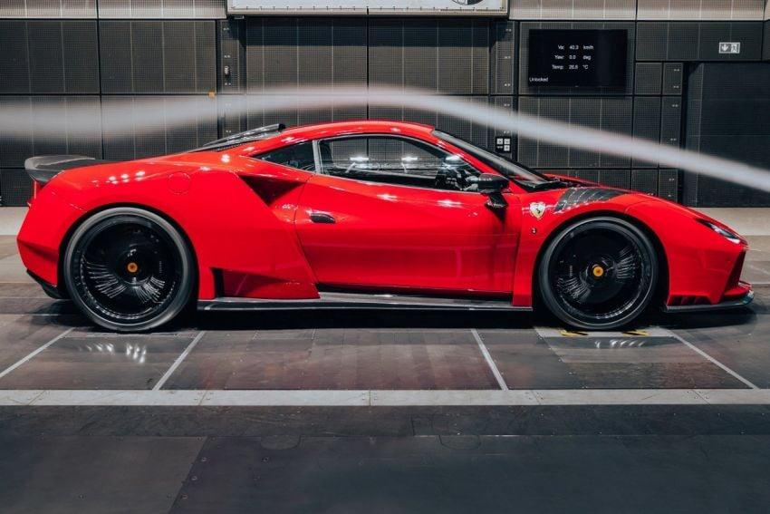 Ferrari F8 N-Largo oleh Novitec – kit <em>widebody</em> baharu, 3.9L turbo-berkembar, 818 PS/903 Nm; terhad 15 unit Image #1315765
