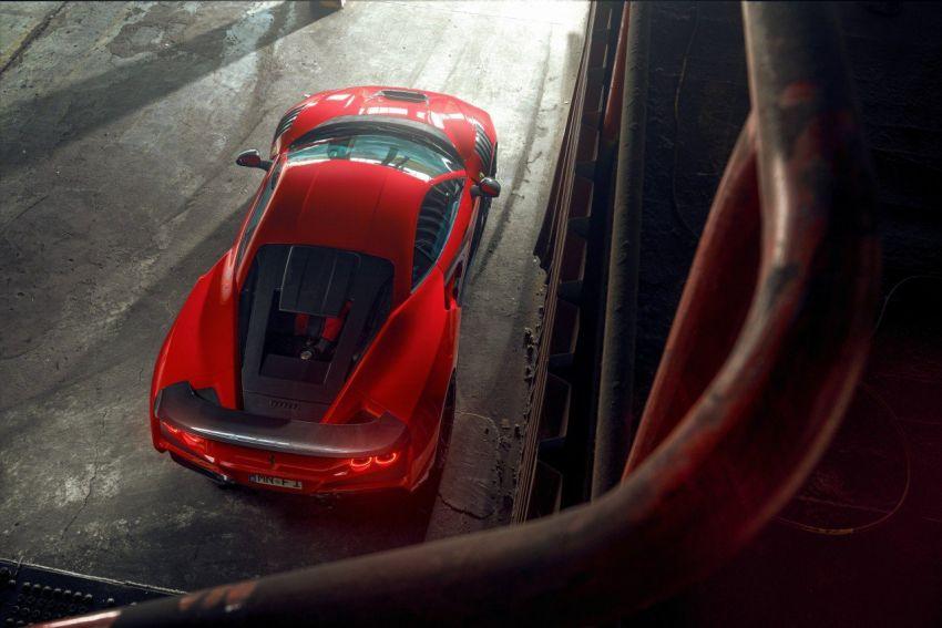 Ferrari F8 N-Largo oleh Novitec – kit <em>widebody</em> baharu, 3.9L turbo-berkembar, 818 PS/903 Nm; terhad 15 unit Image #1315748