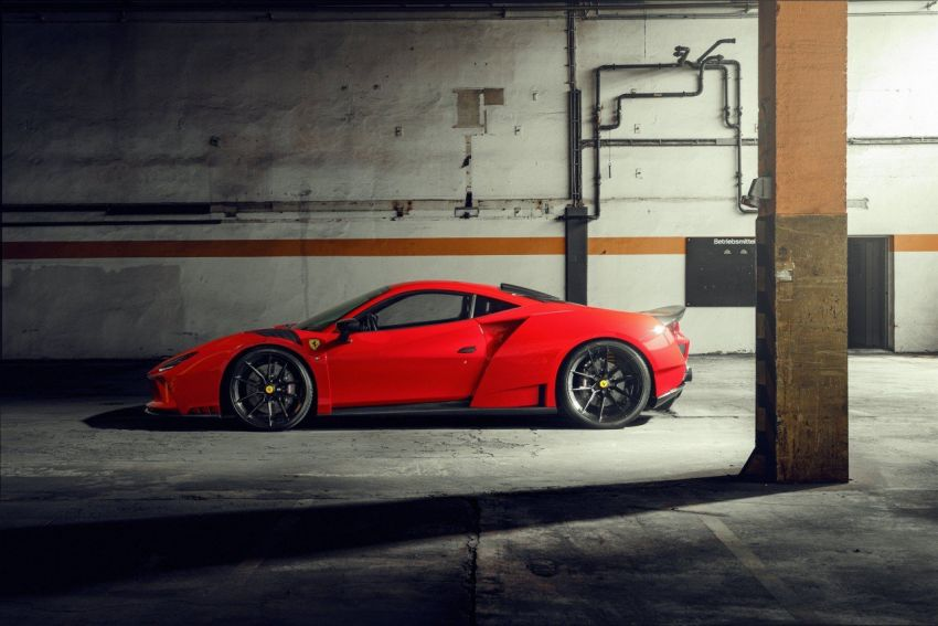 Ferrari F8 N-Largo oleh Novitec – kit <em>widebody</em> baharu, 3.9L turbo-berkembar, 818 PS/903 Nm; terhad 15 unit Image #1315749
