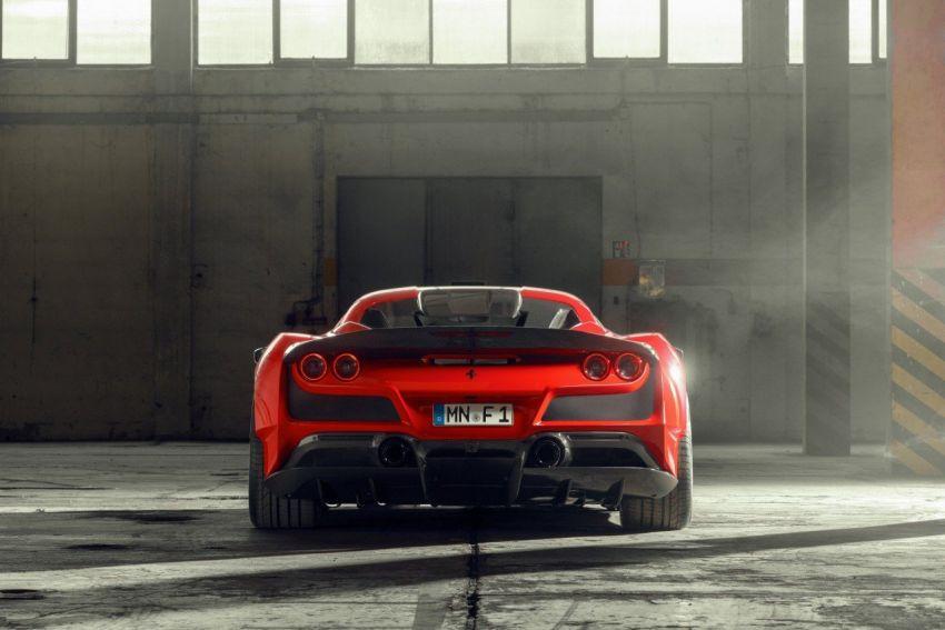 Ferrari F8 N-Largo oleh Novitec – kit <em>widebody</em> baharu, 3.9L turbo-berkembar, 818 PS/903 Nm; terhad 15 unit Image #1315752