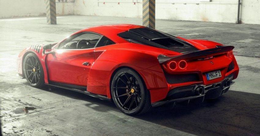 Ferrari F8 N-Largo oleh Novitec – kit <em>widebody</em> baharu, 3.9L turbo-berkembar, 818 PS/903 Nm; terhad 15 unit Image #1315754