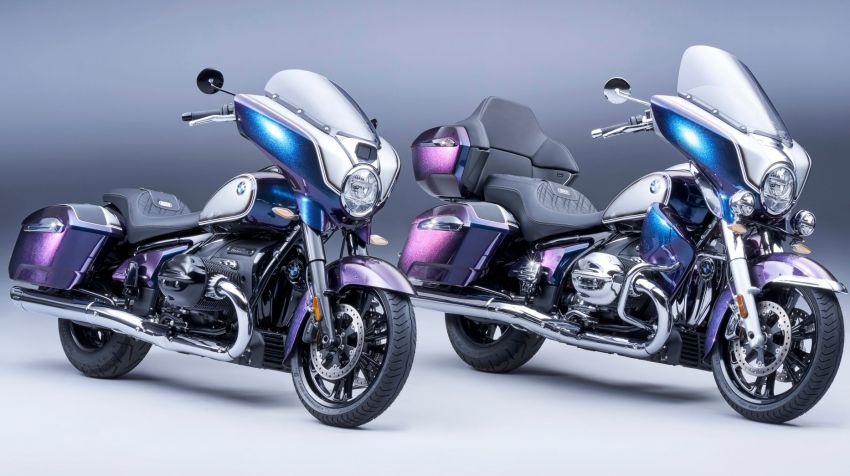 2022 BMW Motorrad R18 gets R18 Transcontinental and R18B Bagger variants, Marshall sound system Image #1324890