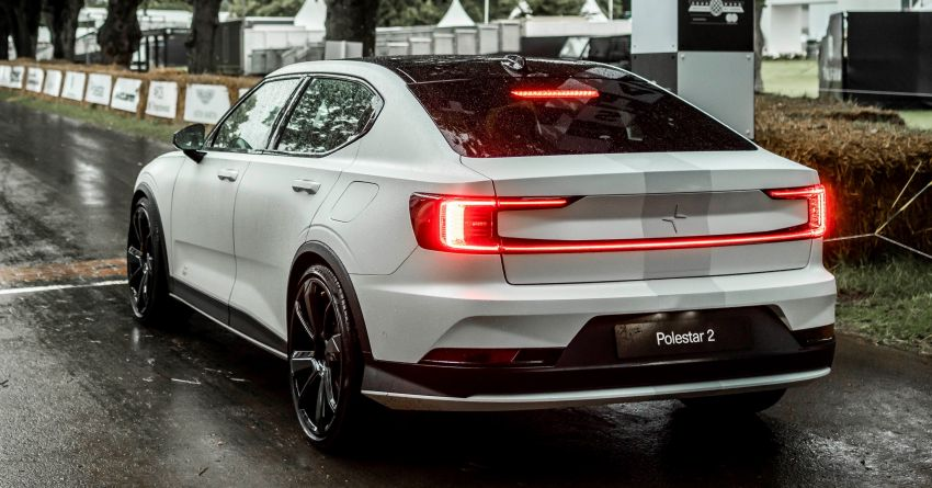 Experimental Polestar 2 debuts at Goodwood Festival of Speed – 476 PS; chassis, styling improvements Image #1317220