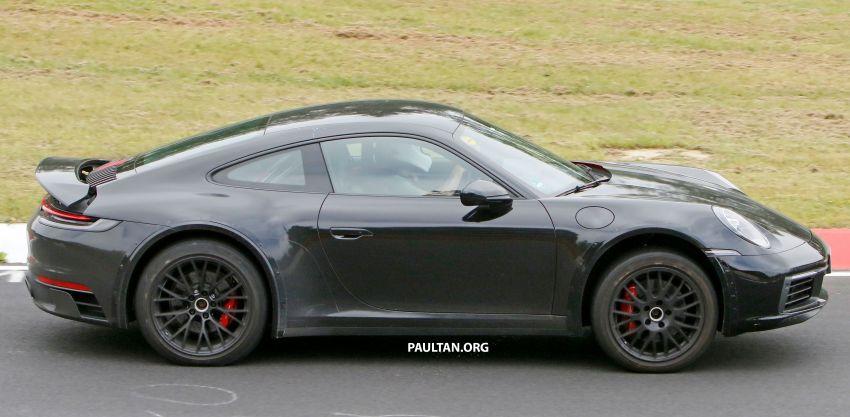 SPYSHOTS: Porsche 911 'Safari' seen testing on track Image #1318182