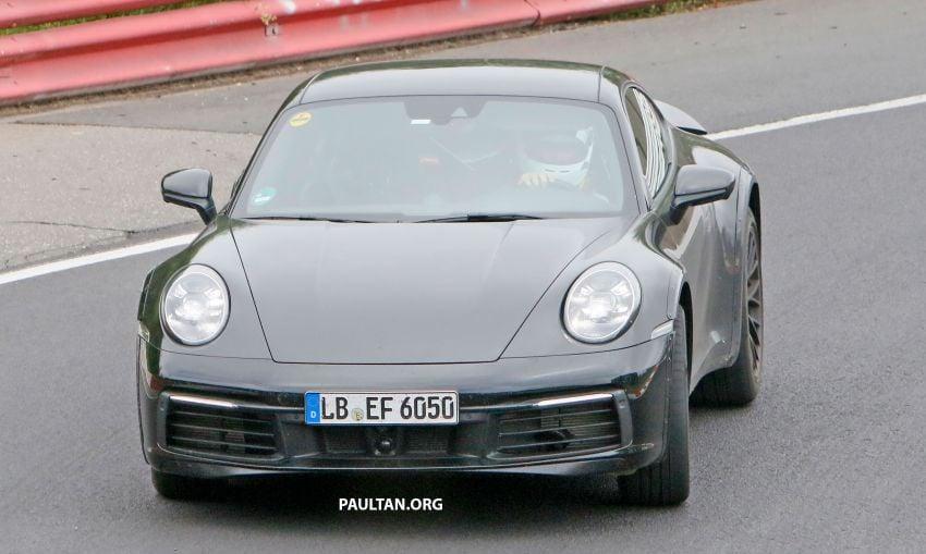 SPYSHOTS: Porsche 911 'Safari' seen testing on track Image #1318173