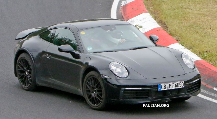 SPYSHOTS: Porsche 911 'Safari' seen testing on track Image #1318178