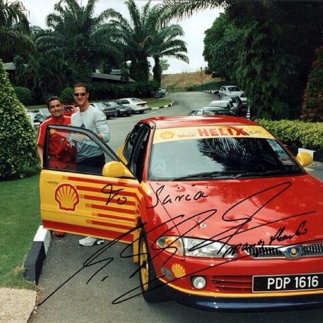 DSR company founder recounts the story of Michael Schumacher driving his Proton Wira 1.8 DOHC EXi Image #1316997