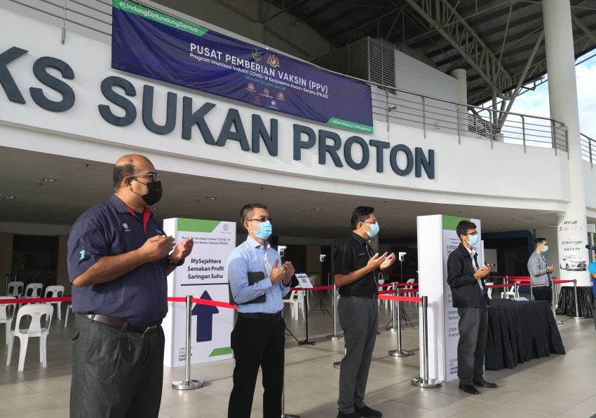Proton begins vaccinating all its employees, expects most to be fully vaccinated by the first half of August Image #1318408