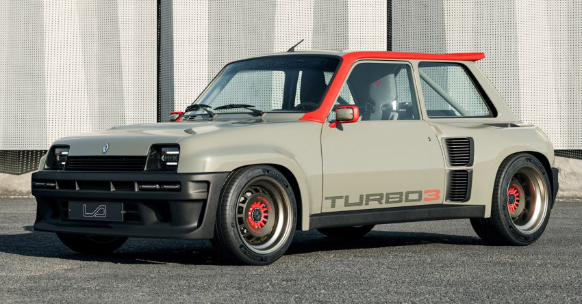 Renault 5 Turbo 3 debuts as a 400 hp restomod tribute Image #1323516
