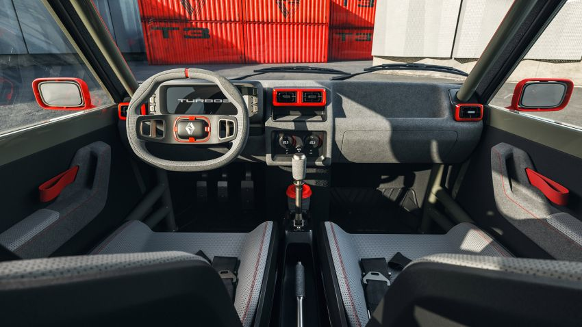 Renault 5 Turbo 3 debuts as a 400 hp restomod tribute Image #1323527