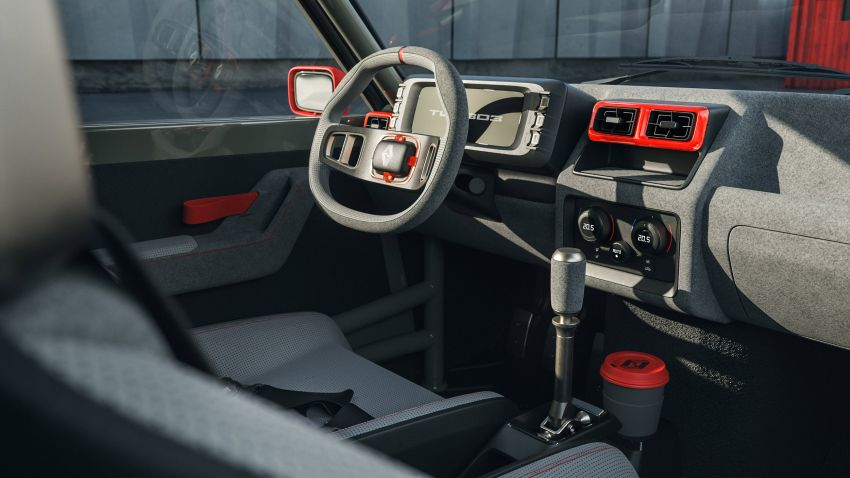Renault 5 Turbo 3 debuts as a 400 hp restomod tribute Image #1323530