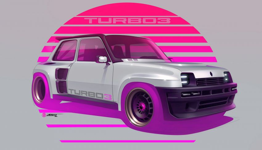 Renault 5 Turbo 3 debuts as a 400 hp restomod tribute Image #1323533