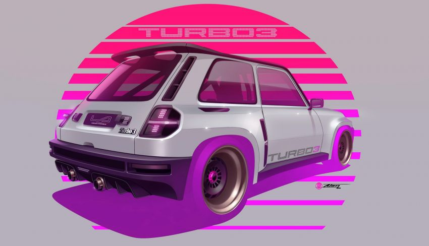 Renault 5 Turbo 3 debuts as a 400 hp restomod tribute Image #1323534