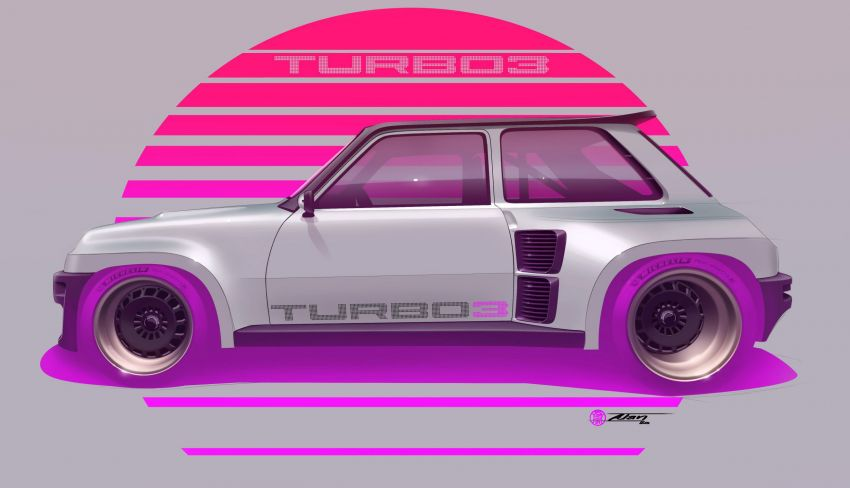 Renault 5 Turbo 3 debuts as a 400 hp restomod tribute Image #1323535