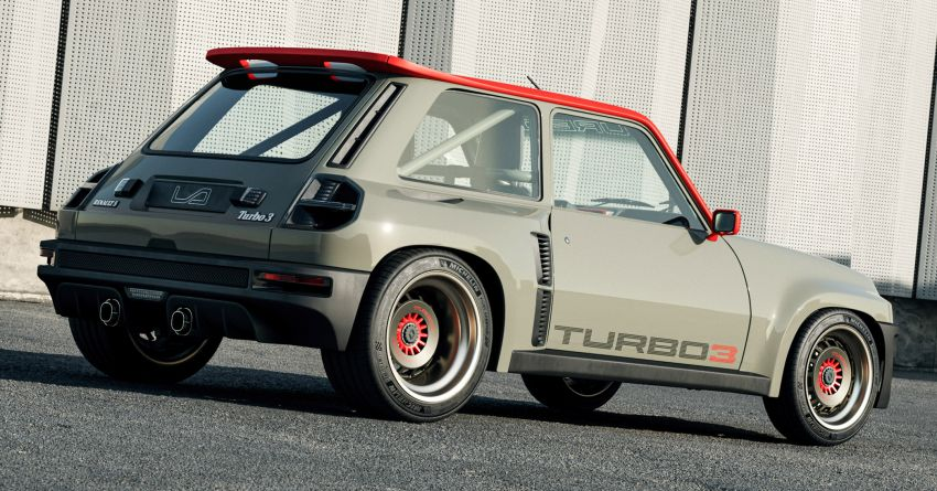 Renault 5 Turbo 3 debuts as a 400 hp restomod tribute Image #1323517