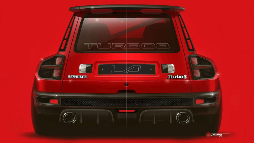 Renault 5 Turbo 3 debuts as a 400 hp restomod tribute Image #1323536