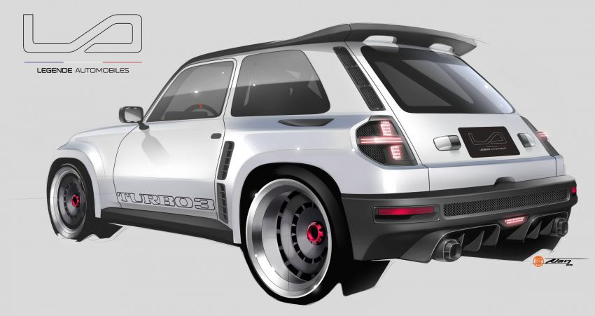 Renault 5 Turbo 3 debuts as a 400 hp restomod tribute Image #1323537