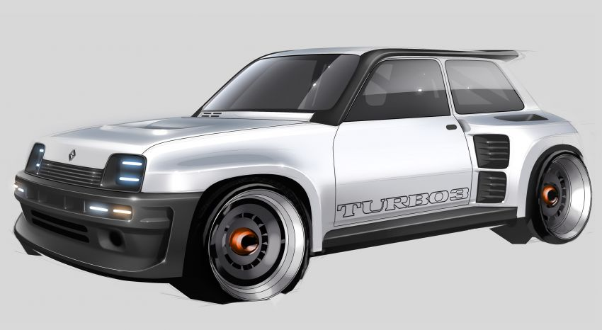 Renault 5 Turbo 3 debuts as a 400 hp restomod tribute Image #1323539