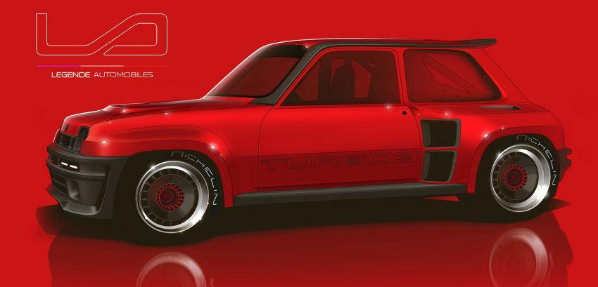 Renault 5 Turbo 3 debuts as a 400 hp restomod tribute Image #1323540