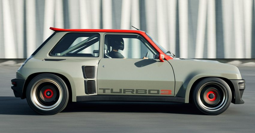 Renault 5 Turbo 3 debuts as a 400 hp restomod tribute Image #1323519