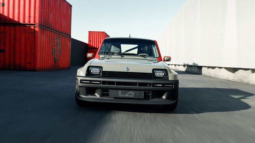 Renault 5 Turbo 3 debuts as a 400 hp restomod tribute Image #1323521
