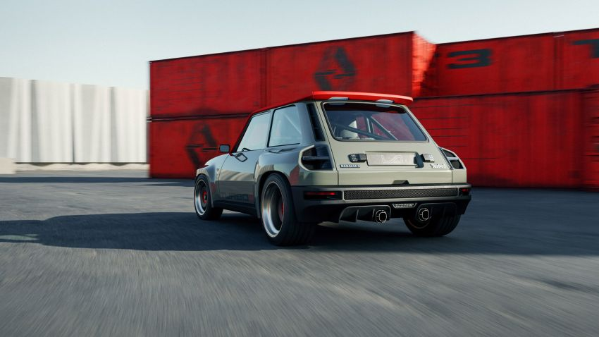 Renault 5 Turbo 3 debuts as a 400 hp restomod tribute Image #1323522
