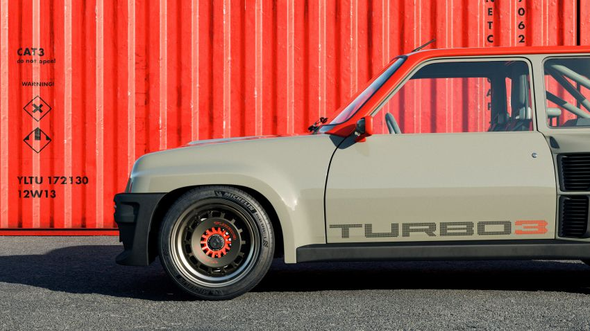 Renault 5 Turbo 3 debuts as a 400 hp restomod tribute Image #1323523