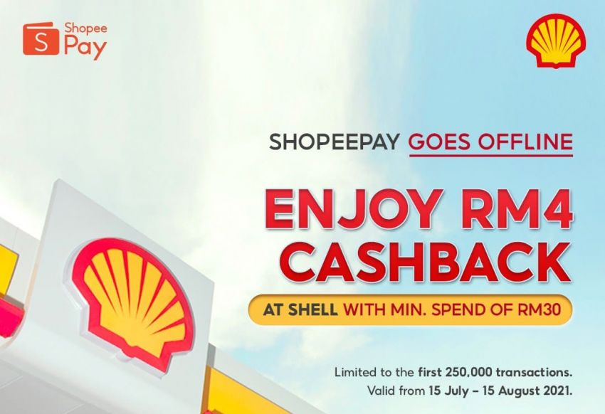 Shell stations nationwide now accepting ShopeePay Image #1322251