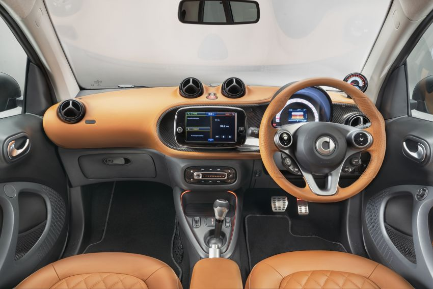 2021 smart EQ fortwo Racing Green Edition unveiled Image #1321790