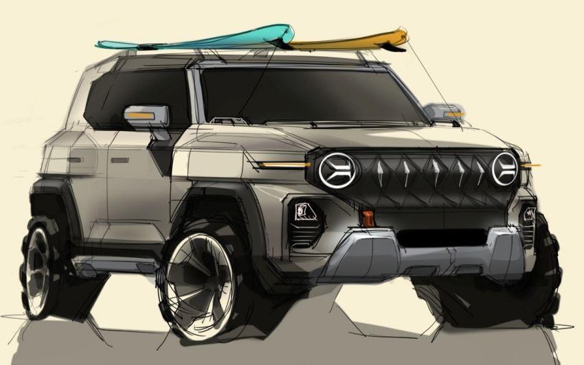 SsangYong teases Jeep-like X200 – next Korando? Image #1323844