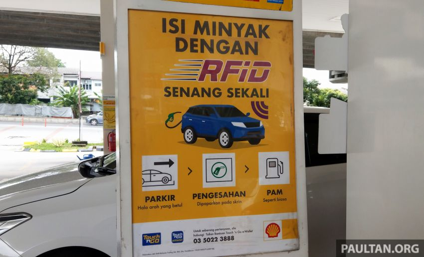 TNG RFID Fuelling pilot programme begins at five Shell stations in Klang Valley, from July 13 to Aug 12 Image #1318740