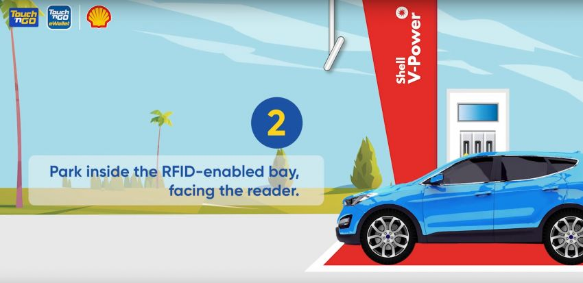 TNG RFID Fuelling pilot programme begins at five Shell stations in Klang Valley, from July 13 to Aug 12 Image #1318743