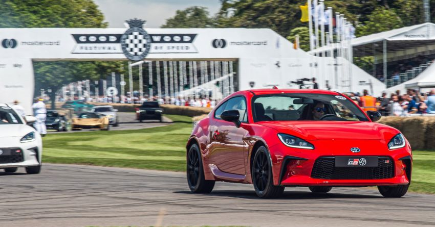 Toyota GR86 makes its UK debut at Goodwood event Image #1318689