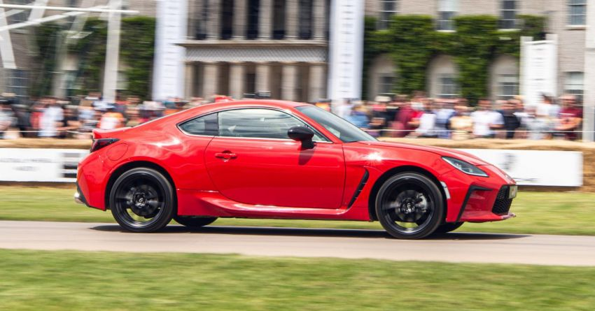 Toyota GR86 makes its UK debut at Goodwood event Image #1318691