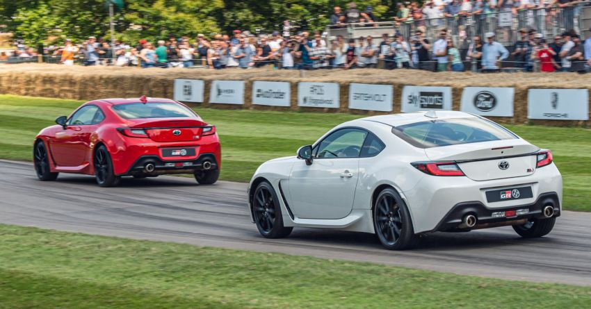 Toyota GR86 makes its UK debut at Goodwood event Image #1318692