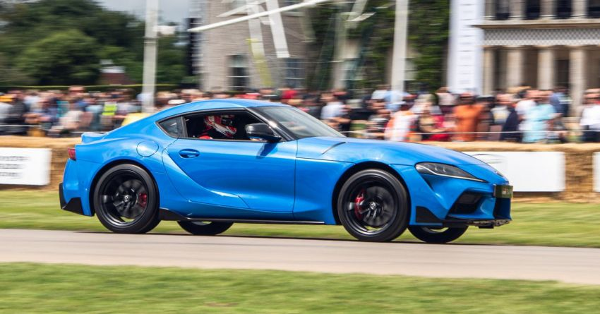 Toyota GR86 makes its UK debut at Goodwood event Image #1318693