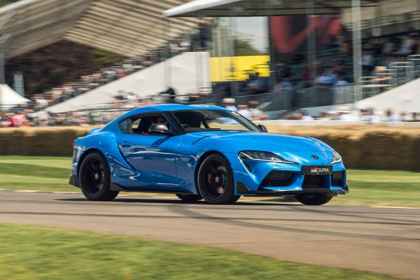 Toyota GR86 makes its UK debut at Goodwood event Image #1318694
