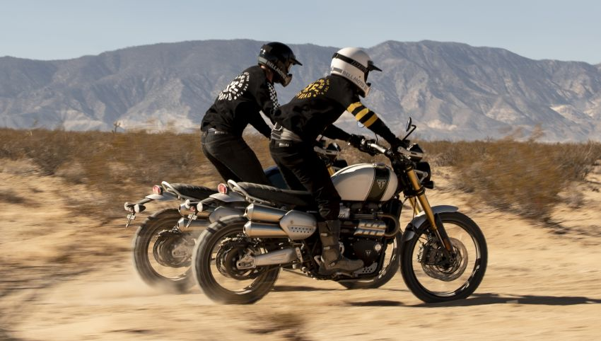 Triumph gets dirty with new off-road race motorcycles Image #1321159