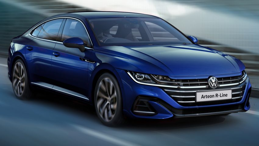 Volkswagen Arteon facelift launched in Malaysia – R-Line 2.0 TSI 4Motion, 280 PS, 350 Nm; CKD, RM248,693 Image #1320326