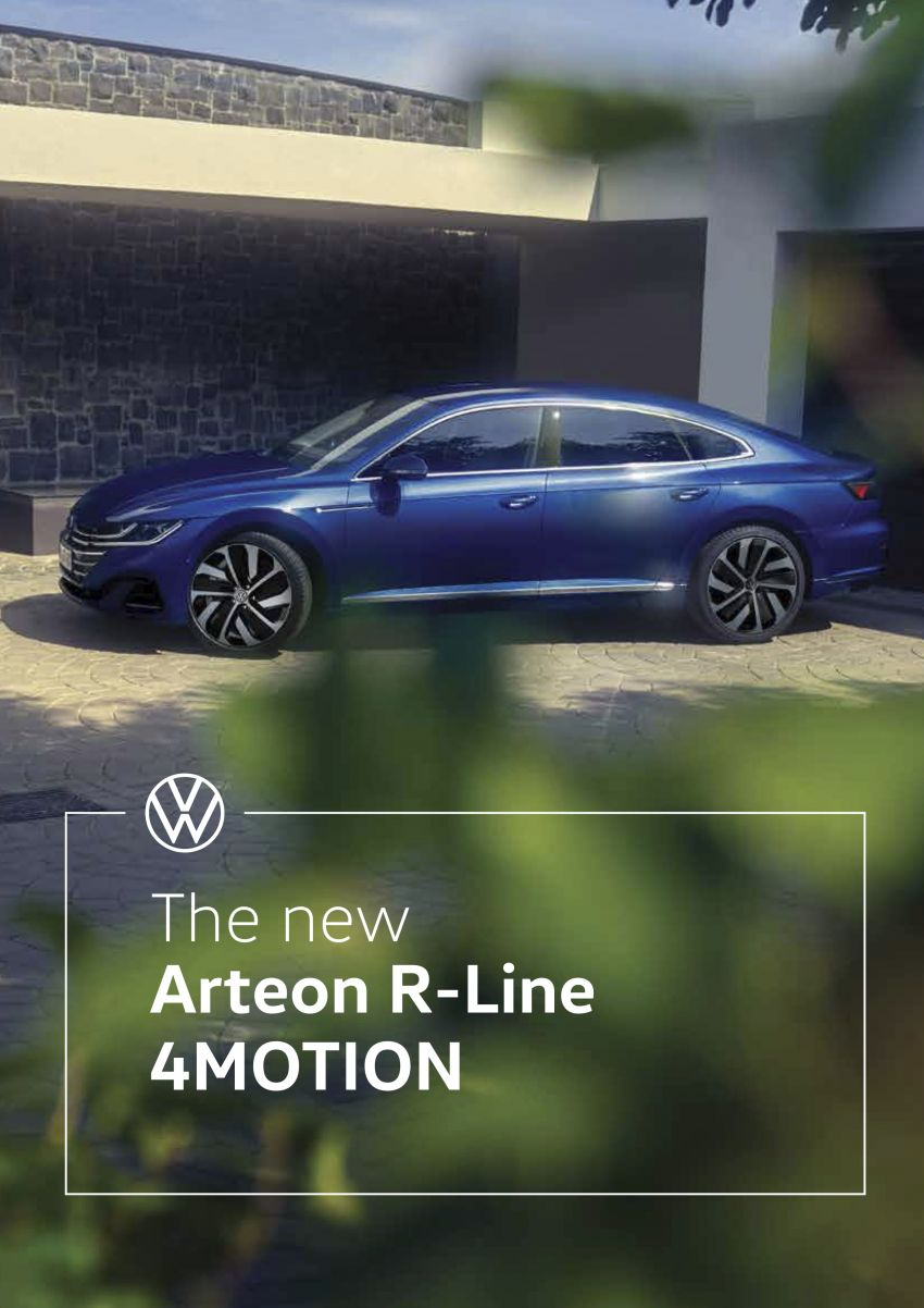 Volkswagen Arteon facelift launched in Malaysia – R-Line 2.0 TSI 4Motion, 280 PS, 350 Nm; CKD, RM248,693 Image #1320164