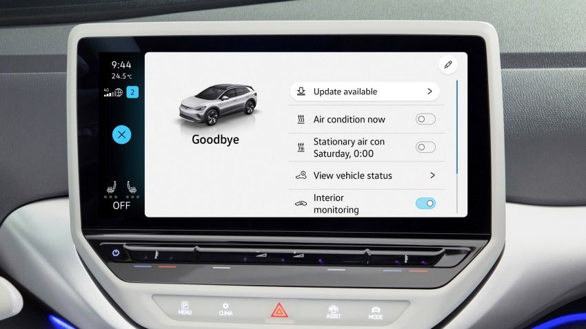 Volkswagen releases first OTA update for ID.3 and ID.4 Image #1315644