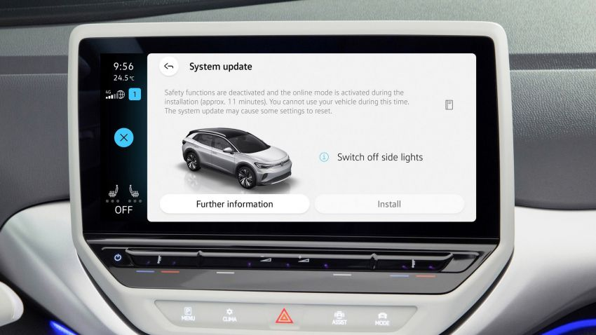 Volkswagen releases first OTA update for ID.3 and ID.4 Image #1315645