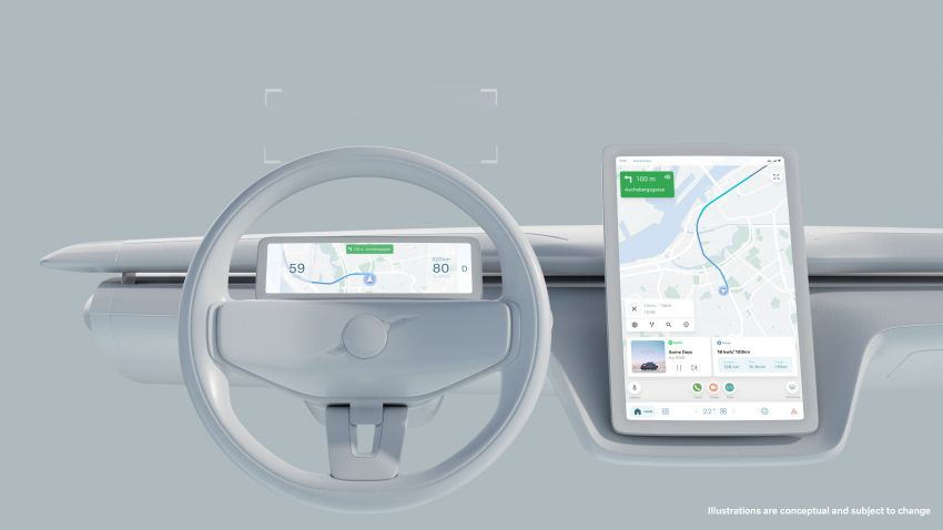 VolvoCar.OS to feature in brand's future EVs – Android Automotive OS to power new infotainment systems Image #1313982
