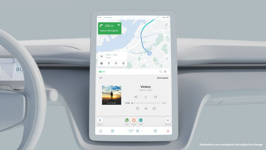 VolvoCar.OS to feature in brand's future EVs – Android Automotive OS to power new infotainment systems Image #1313983